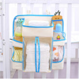 Baby Nursery Organizer Diaper Organizer Diaper Caddy Wipes Storage Creams & Lotions Special Support for Crib
